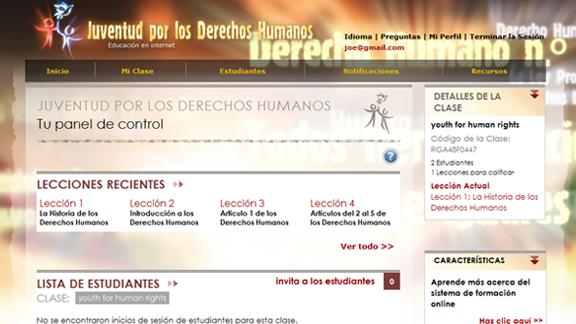 Curso online DDHH gratis