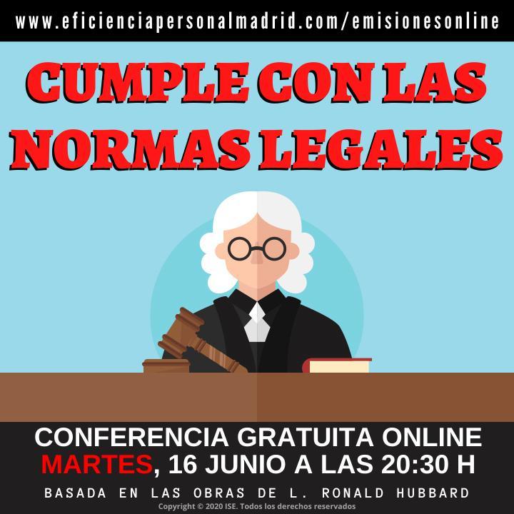 Webinar: Cumple con las normas legales