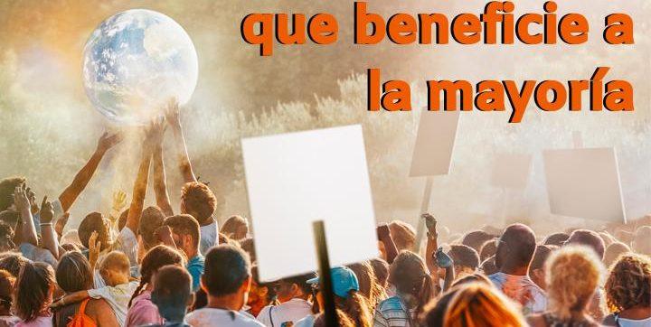 Webinar: Apoya aquello que beneficie a la mayoría